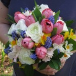 Ranunculus, tulips, anemones  and daffodils