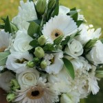 Chrysanthemums, Lisianthus and Gerbera bouquet
